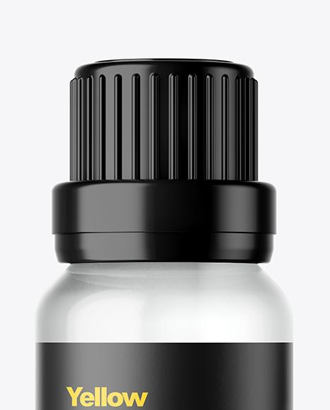 Clear Oil Bottle Mockup