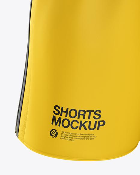 Men's Soccer Shorts mockup (Front View)