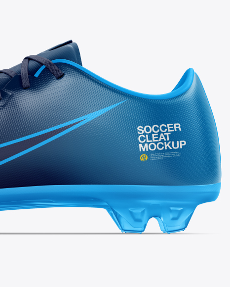 Soccer Cleat mockup (Inside View)