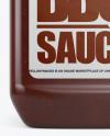 Plastic Jug w/ BBQ Sauce Mockup