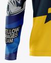 Men's MTB Trail Jersey LS mockup (Front View)