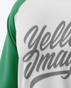Men's Raglan Long Sleeve T-Shirt Mockup