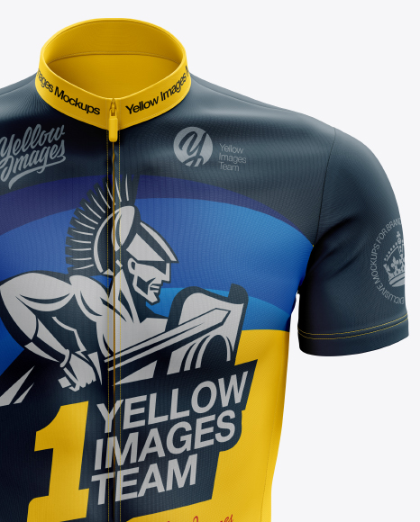 Men's Cycling Kit mockup (Front View)