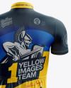 Men's Cycling Kit mockup (Back View)