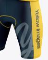 Men's Cycling Kit Mockup (Half Side View)