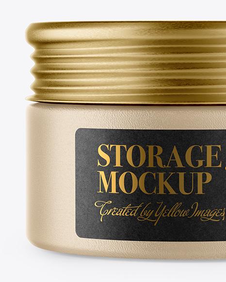 Ceramic Storage Jar Mockup