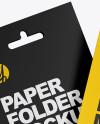 Two Paper Folders Mockup