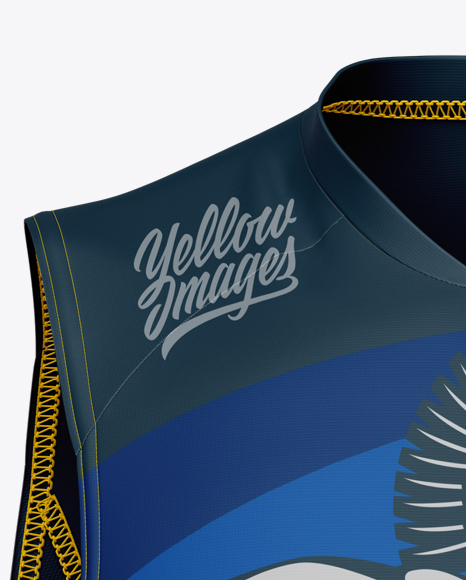 Men's Transition Tri Top Mockup