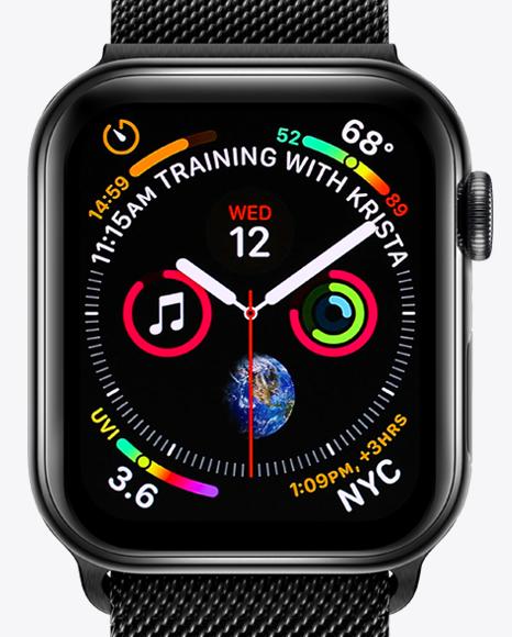 Apple Watch Series 4 Mockup