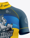 Women's Cycling Skinsuit Mockup - Front View