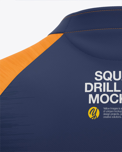 Men's Squad Drill Top - Back View
