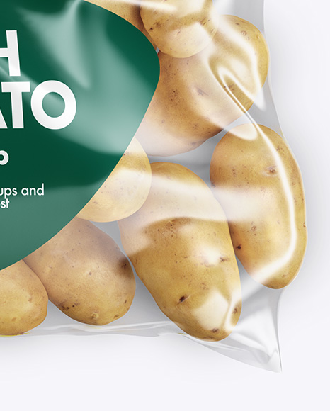 Pack with Potato Mockup