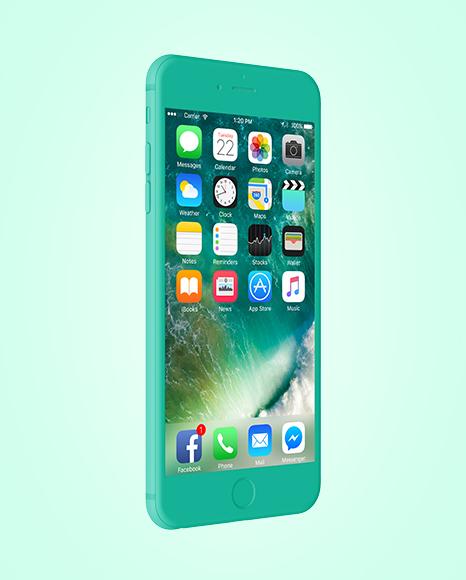 Clay Apple iPhone 6 Plus Mockup