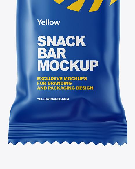 Matte Snack Bar Mockup
