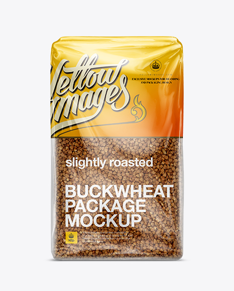 Download Buckwheat Package Mockup Object Mockups
